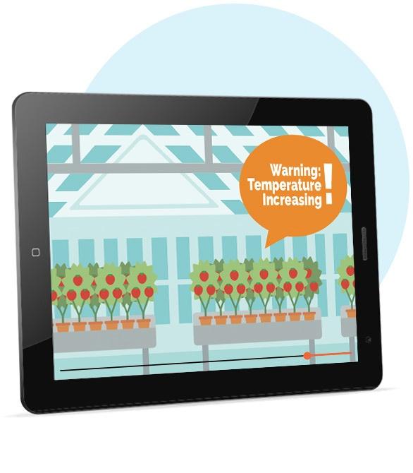 Monitoring Greenhouse Temperatures